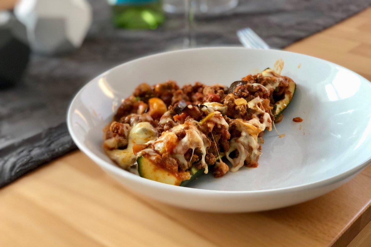 zucchini gerichte mit hackfleisch